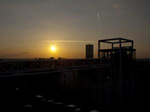 Sunset – Brussels